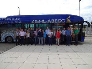 Betriebsbesichtigung der Firma ZIEHL-ABEGG
