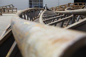 Bild 5: Schienen auf Lager