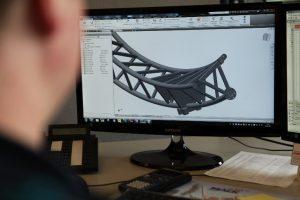 Bild 9: Konstruktion am PC