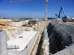 Baustellenbesichtigung Bild 2