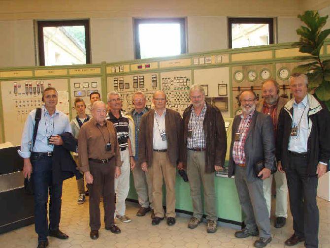 Schaltzentrale des EnBW-Werks in Forbach