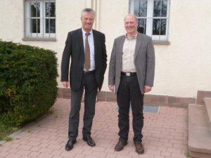 (links Klaus Arnold/ rechts Nobert Gaißer)