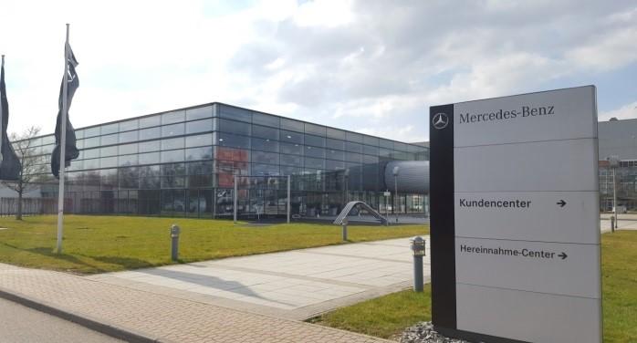 Mercedes-Benz-Werk in Rastatt - Werksbesichtigung - VSVI