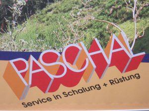 Bild 1: Firmenlogo der Firma PASCHAL