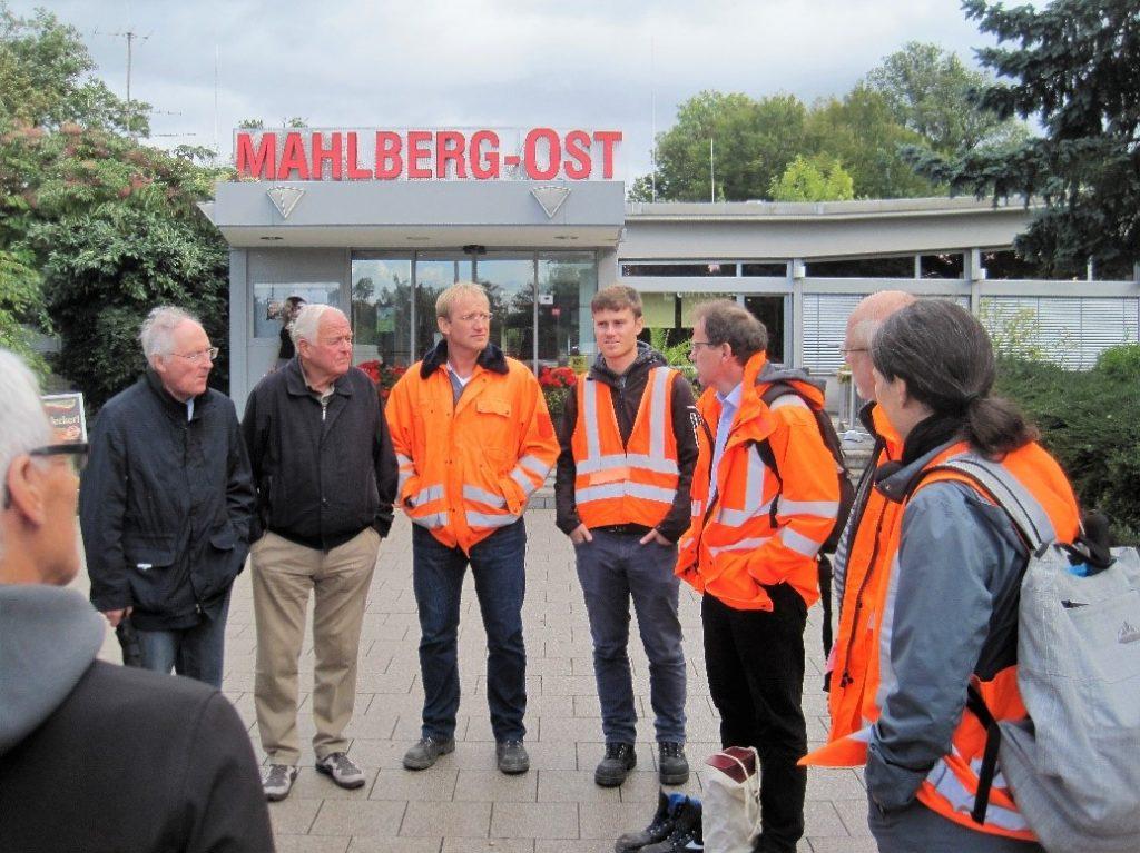 Bild 01: Begrüßung an der T+R Mahlberg