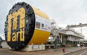 Bild 4: Die TBV für den Bau des STB