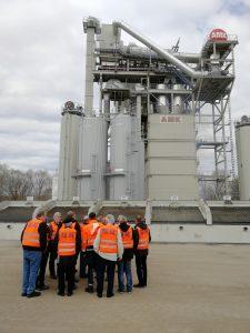 Asphaltmischanlage der AMK in Sinsheim
