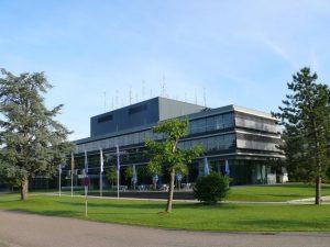 Gebäude der DFS in Karlsruhe