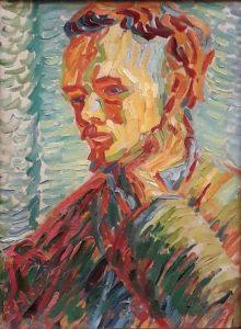 Erich Heckel: Mann in jungen Jahren