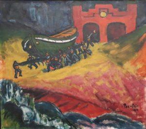 Max Pechstein: Rettungsboot