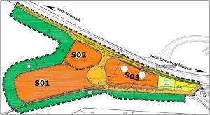 Bild 1: Auszug aus dem Bebauungsplan