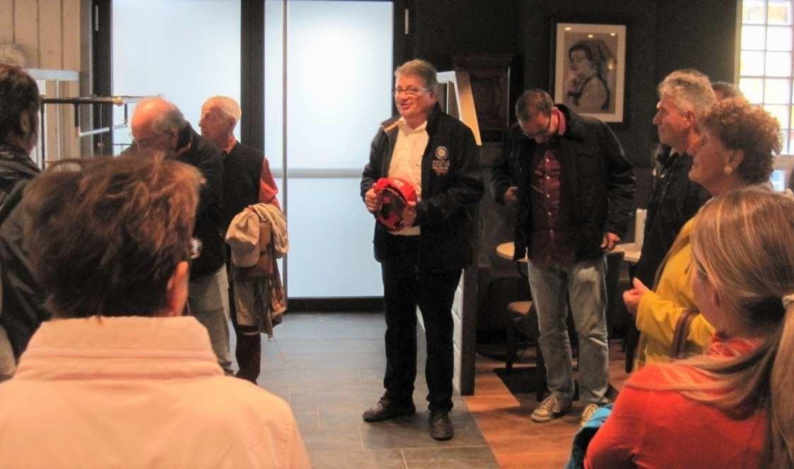 Bild 8: Rulantica-Direktor Michael Kreft von Byern begrüßt die Gäste